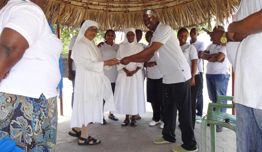 Supporting the elderly in Tudor, Mombasa
