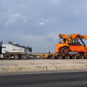 45M REACH STACKER FOR OUR ICD OPERATIONS IN UGANDA